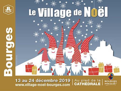 Fêter Noël à Bourges 2019