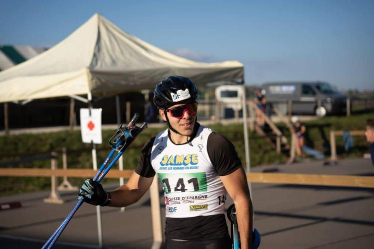 Thomas Joly, rollerski, ski-roues, Challenge Vincent Vittoz, Challenge National Vincent Vittoz, Arçon, Nordic Mag, nordicmag