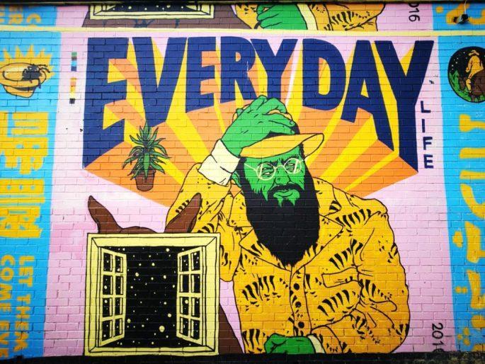 Birmingham Digbeth Graffiti Art 33