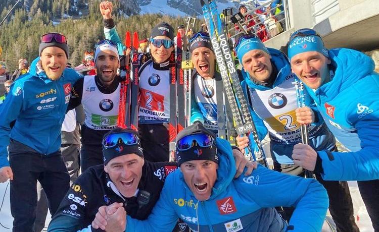 biathlon, Antholz, France, Fillon Maillet, Fourcade, Jacquelin, Desthieux