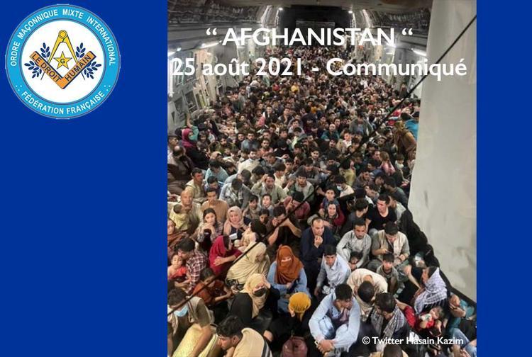 Afghanistan - communiqué du 25 août 2021