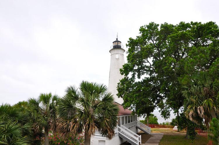 Leuchtturm auf St. Marks an der Emerald Coast