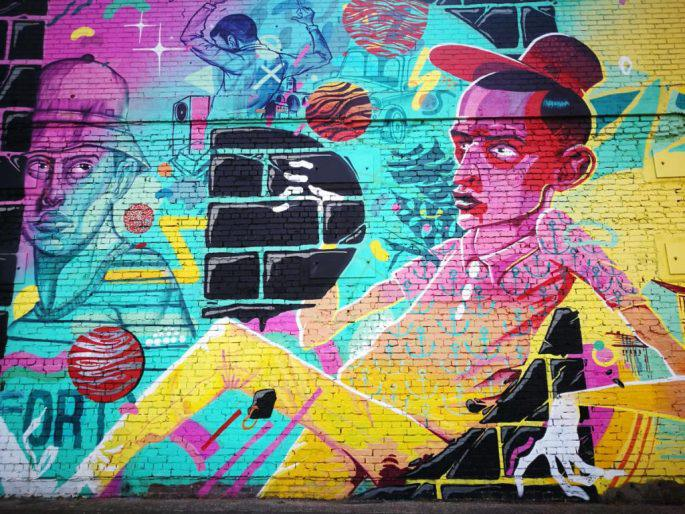 Birmingham Digbeth Graffiti Art 26