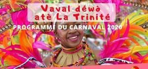 Découvrez le programme du carnaval 2020 de la ville de Trinité