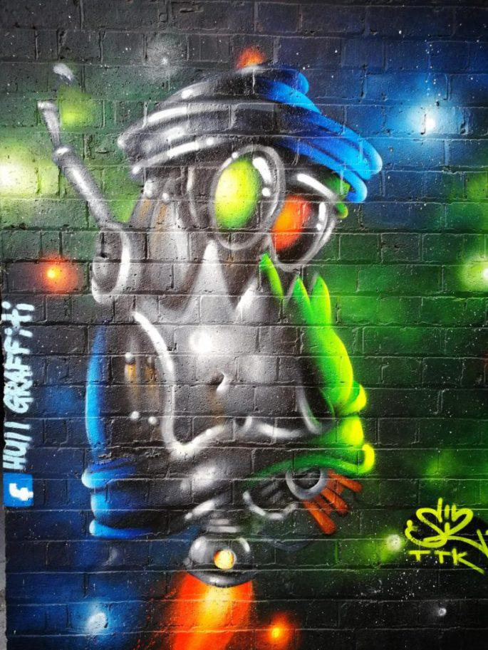 Birmingham Digbeth Graffiti Art 25