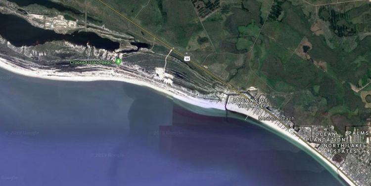 Crooked Island Strand abschnitt -Emerald Coast