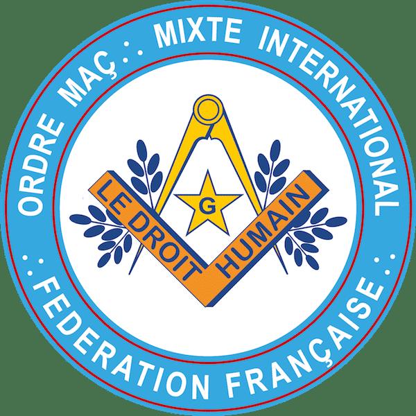 Logo de la Fédération françasie du DROIT HUMAIN 600px
