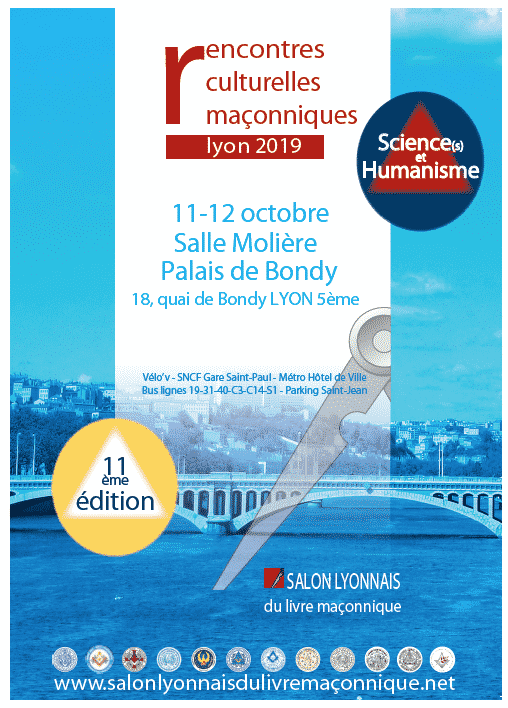 Rencontres mçonniques de Lyon 2019