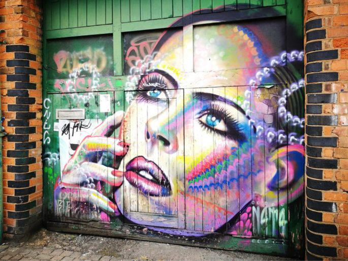 Birmingham Digbeth Graffiti Art 7