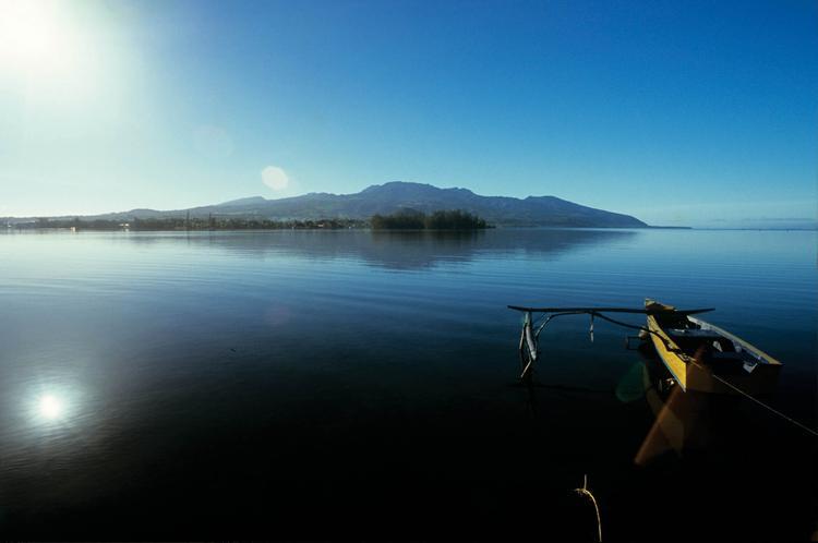 Baie de Phaéton, Presqu'île de Tahiti Iti, à Papeari.