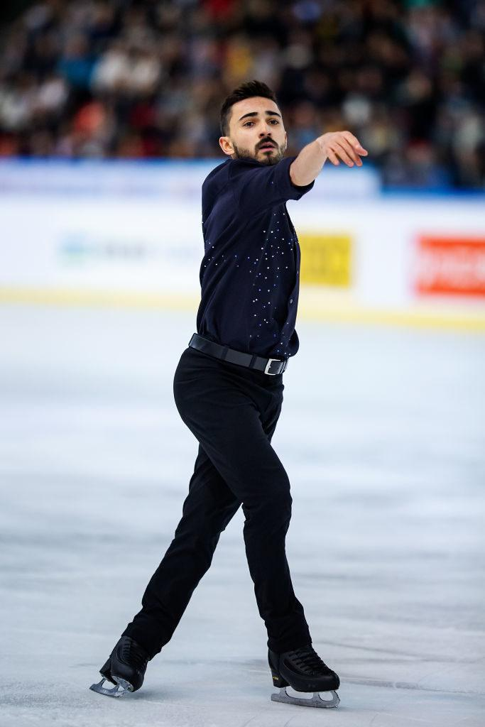 Kevin Aymoz, patinage artistique, patinage, Grand Prix, ISU, Grenoble