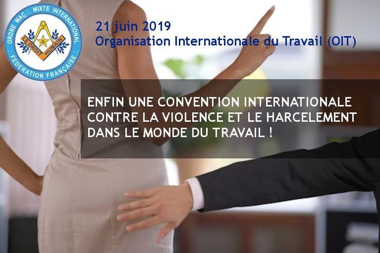 Communiqué OIT 21 juin 2019