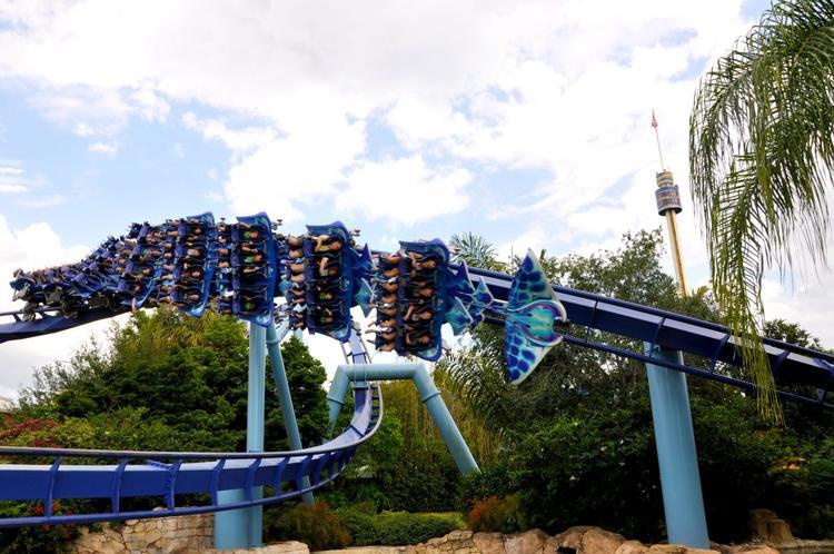 Roller Coaster Manta in Sea World - Tipps Sea World