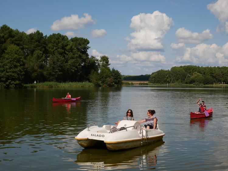Lac de Rille Touraine Nature