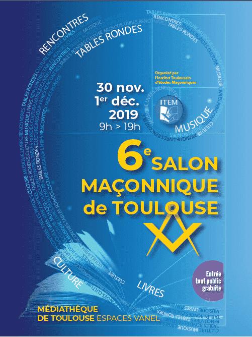 Salon maçonnique de Toulouse 2019