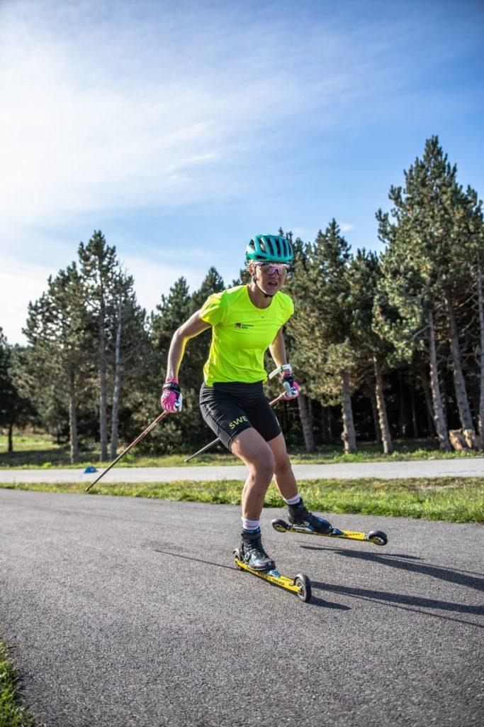 Maja Dahlqvist, ski de fond, Font-Romeu, rollerski, ski-roues, Nordic Mag, nordicmag