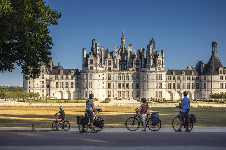 Chateau de Chambord velo