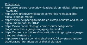 Mythos Media - Intro to Digital Signage, References