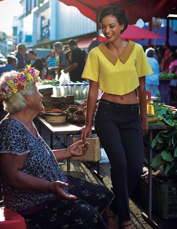 Purea Poulain, Marché de Papeete ©Tim Mckenna