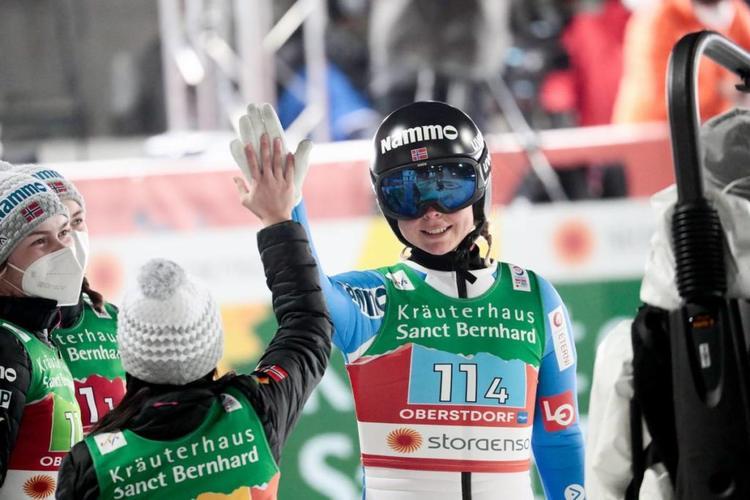 Maren Lundby, saut à ski, Oberstdorf