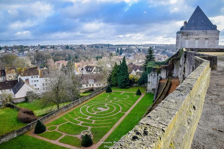 labyrinthe evêché Chartres - Alexandra Rousseau - c - My Loire Valley