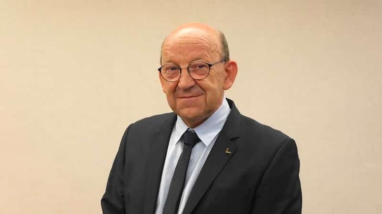 Georges Voileau Grand Maître National de la Fédération française du DROIT HUMAIN