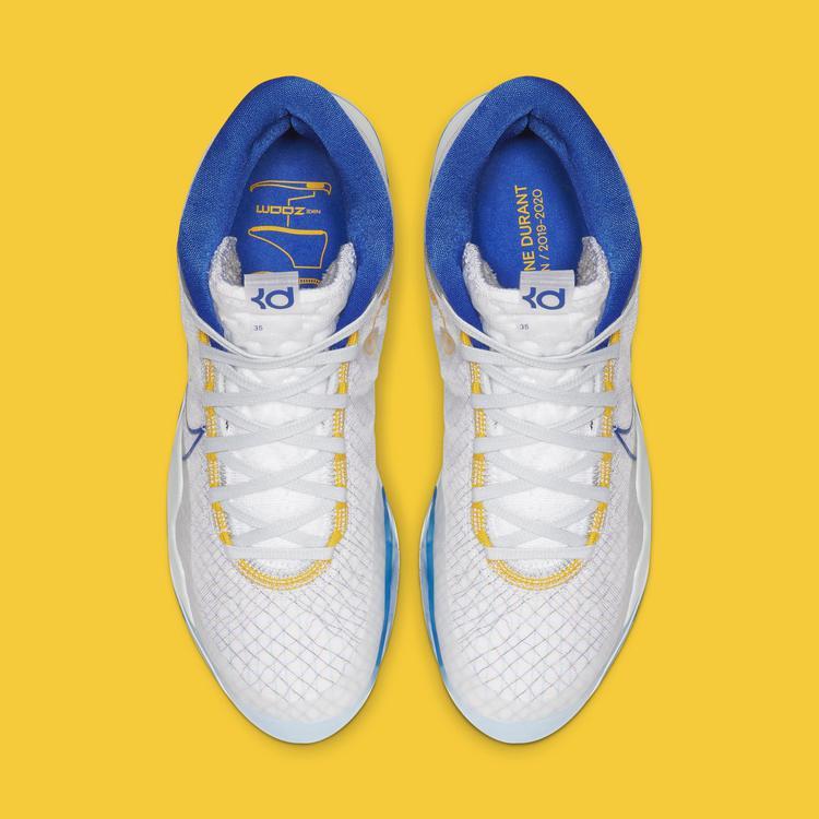 Nike KD 12 'Warriors Home' AR4229-100 (Top)